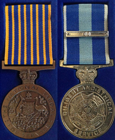 Queensland Ethic Medal